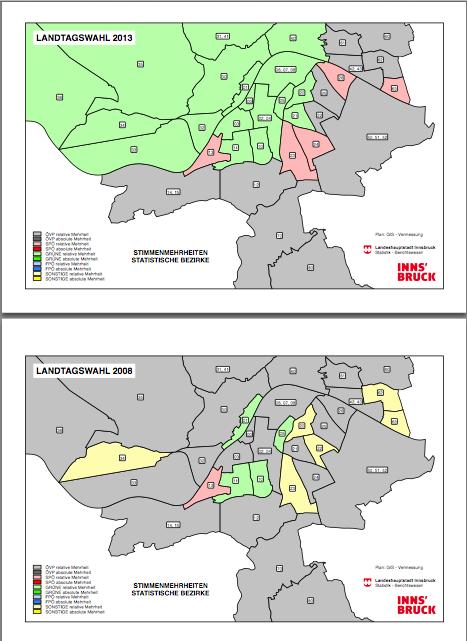 Innsbruck 2008 bis 2013